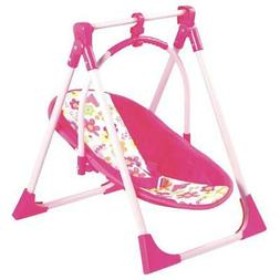 Adora 4-in-1 Playset Baby Carrier Seat, Swing & Doll High Ch