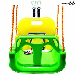 BBCare 3-in-1 Child to Teenager Secure Swing with Snap Hooks