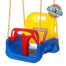 ANCHEER 3-in-1 Toddler Swing Seat Infants to Teens, Detachab