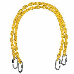Fully Coated Chain 66 Inch Long + 4 Free Quick Links on Both