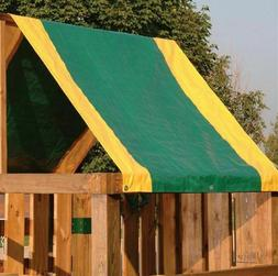 2 Tone Swing-N-Slide CANOPY Replacement Swingset Shade Playg