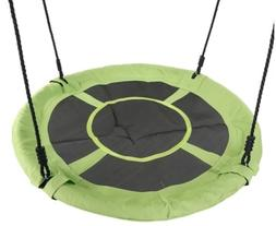 40 inch Flying Saucer Tree Swing Kids Play Set Sports Outdoo