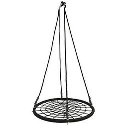 "40"" Spider Web Tree Net Large Swing Outdoor Hanging Play Toy"