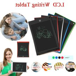 8.5/10/12In LCD Electronic Writing Tablet Digital Kids Drawi