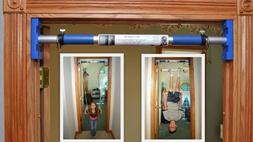 Indoor Trapeze Bar and Swing Set for Kids - Perfect Rainy Da