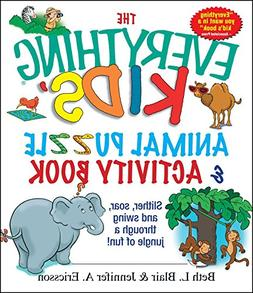The Everything Kids' Animal Puzzles & Activity Book: Slither