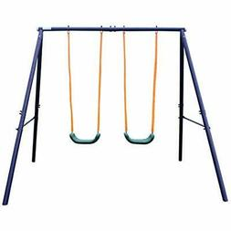 "A-Frame Metal Swing Set Toys "" Games Play & Sets Playground"