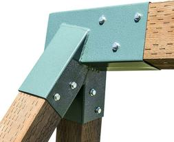 Squirrel Products A-Frame Swing Set Bracket - for 2  Legs  1