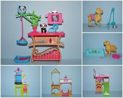 Assorted Lot of Puppy Dog Playset Pieces Genuine BARBIE Dior