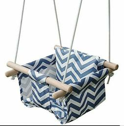 Baby Canvas Hammock Hanging Swing Seat Toy for Toddler In/ou