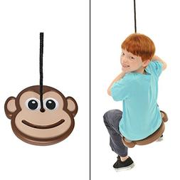 Swinging Monkey Products Disc Shaped Tree, Outdoor kid's Pla