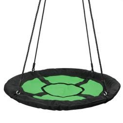 "Giant 40"" Disc Swing Seat Oxford Saucer Tree Swing w/ Adjust"
