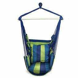 Sorbus Hanging Rope Hammock Chair Swing Seat for Any Indoor