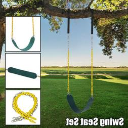 Heavy Duty Safe Adult Child Swing Seat Garden Outdoor Play S