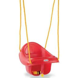 Little Tikes Toddler Baby Kids Hang Swing High Back Rope Sea