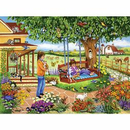 """""""Kittens on the Swing"""" 300-Piece Jigsaw Puzzle - Sealed"""