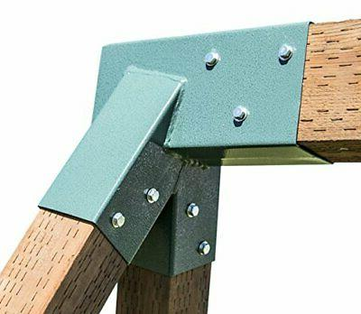 Squirrel Products A-Frame Swing Set Bracket - for 2 4x4 Legs