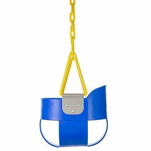 Squirrel Products Back Full Swing Seat Chain Blue