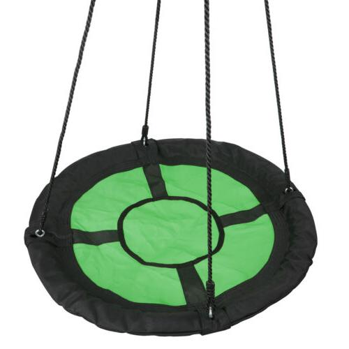 Giant Disc Seat Oxford Saucer Swing w/ PE Rope