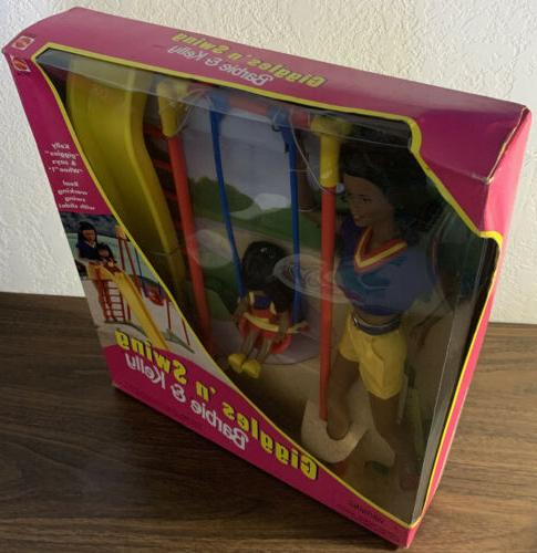 Giggles 'n Barbie Set New Mattel In