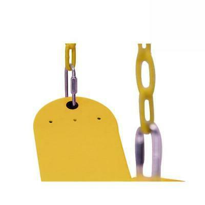 Heavy Swing Accessories Seat with Chain Yellow