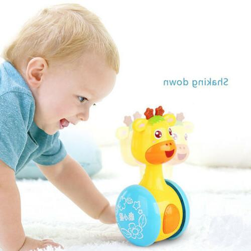 Lovely Animal 3 Months Kids Learning Early Education Swing R