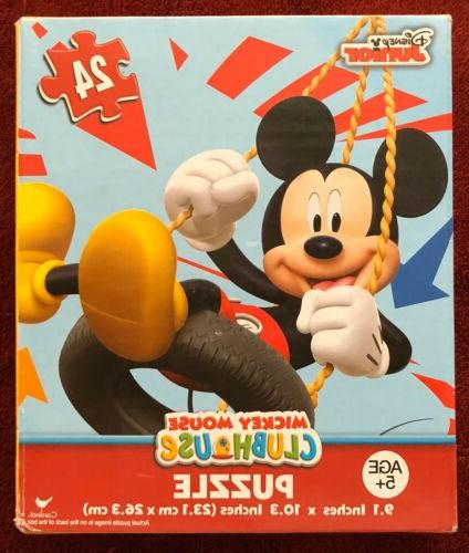 mickey mouse clubhouse puzzle 24 pieces jigsaw