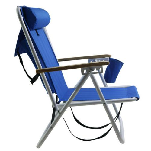 New Backpack Chair Folding Solid Construction