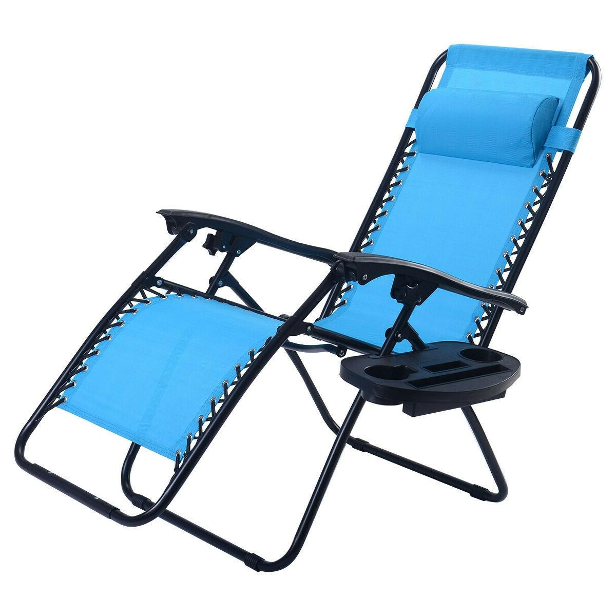 Patio Chairs Zero Gravity Chair Lounge Chaise Recliners Fold