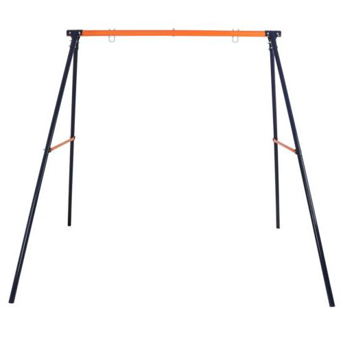 Powder-Coated Steel Swing Set Frame Stand Weatherproof MAX 2