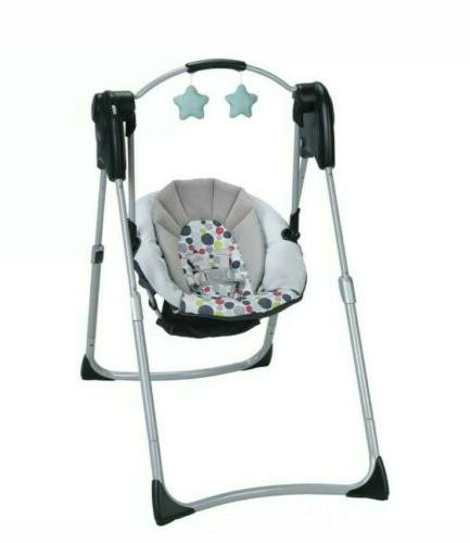 GRACO COMPACT BABY SWING, ETCHER