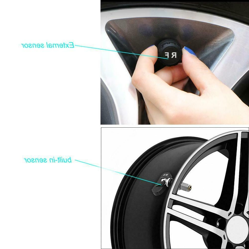 Solar Color TPMS Car System with NIGH