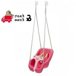 Magenta 2-in-1 Snug And Secure Swing 50 Lbs Capacity Safety