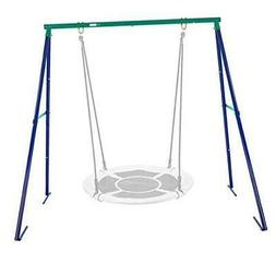 Metal Swing Frame Full Steel Stand for Kids and Adult, Hold