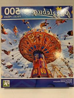 New Puzzlebug Jigsaw Puzzle 500 Pieces. Big Swing Carousel