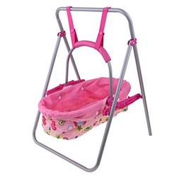 Fityle Portable Baby Cradle Swing Seat Simulation Furniture