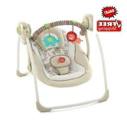 Portable Electric Baby Bouncer Swing Seat Rocker W/ Sounds I