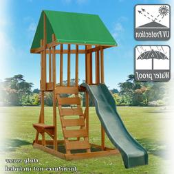 Replacement Canopy Cover Waterproof Backyard Wood Playset Sw