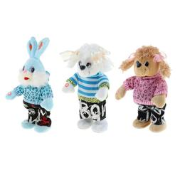 Singing and Dancing Animal Doll Plush Stuffed Toy Electric M