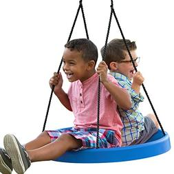 Super Spinner Swing--Fun, Easy to Install on Swing Set or Tr