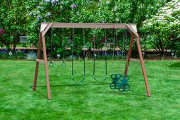 Play Mor Swing Set Summer Playtime 4 Position Free Standing