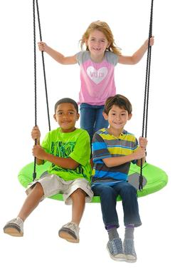 Swinging Monkey Products Swings Giant 40&quot Saucer Nest Tr