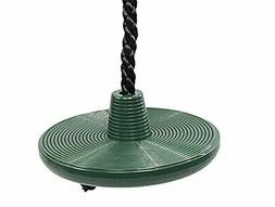 Squirrel Products Tree Swing Disc Rope Swing - with Leg Safe