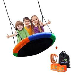 Children's Tree Swing with Hanging Ropes- 400lb Tree Swing
