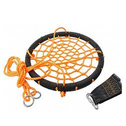 OUTROAD Web Swing for Tree - 24 Inch Outdoor Spider Net Swin